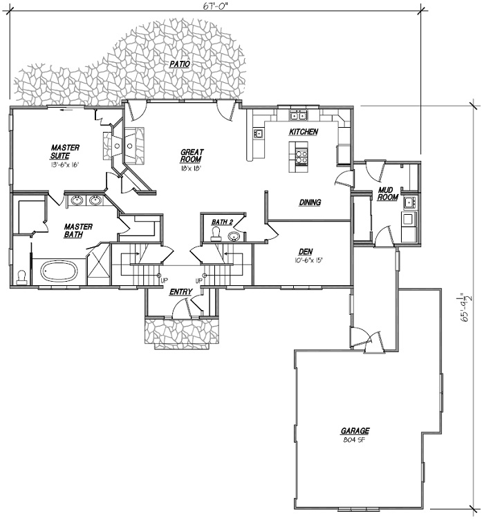 Atrium Ranch Floor Plans Floor Plans