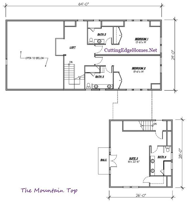 Mountain Top – 4br 4.5ba sq. ft. / 3942 –
