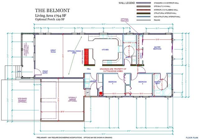 / The 3br – sq. ft. – 2ba Belmont 1794