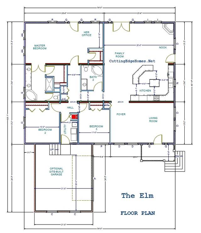 Elm 2367 – – 2ba / 3br The sq. ft.