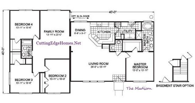– Madison 2320 – ft. / sq. 4br The 2.5ba