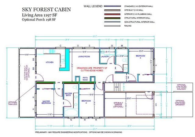 2ba 3br 1197 / sq. – SkyForest Cabin ft. –