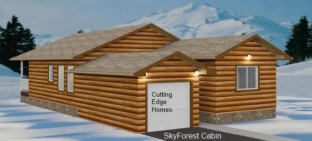 ft. / 3br Cabin 1197 sq. – SkyForest – 2ba