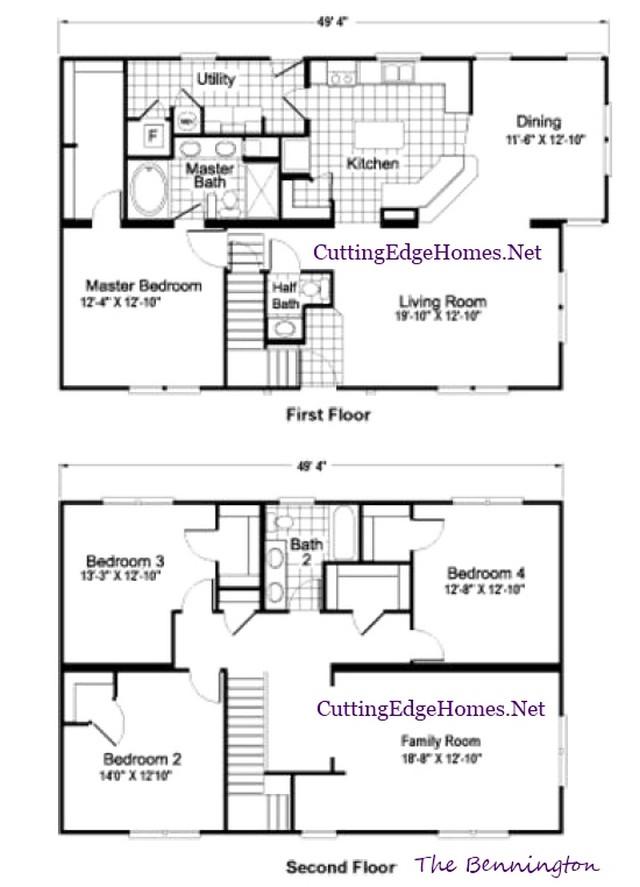 The – sq. 2.5ba 2569 / ft. Bennington – 4br