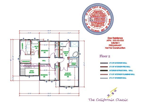 The – 4br 3.5ba sq. California 2524 / – ft. Classic