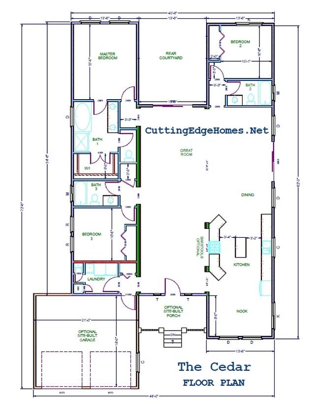 / – The sq. Cedar 2095 ft. – 3ba 3br