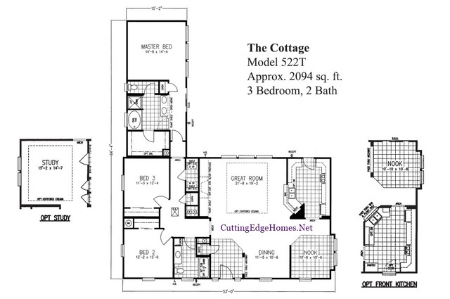 ft. 2094 – sq. 2ba 3br – Cottage / The