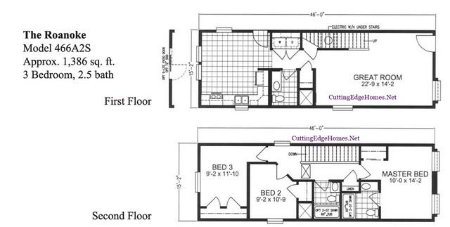 3br 1386 – The / ft. 2.5ba sq. – Roanoke