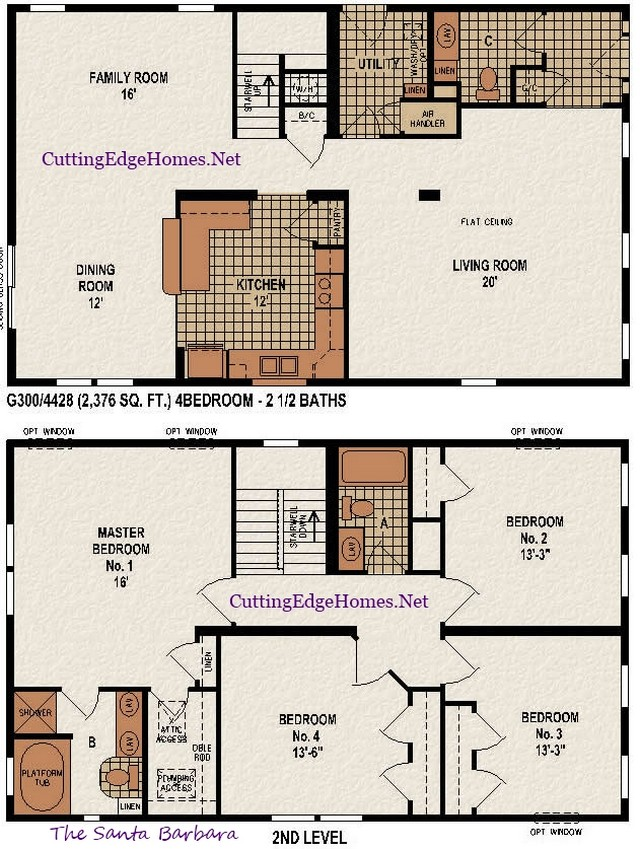 – / Santa 4br Barbara 2376 – sq. 2.5ba ft. The