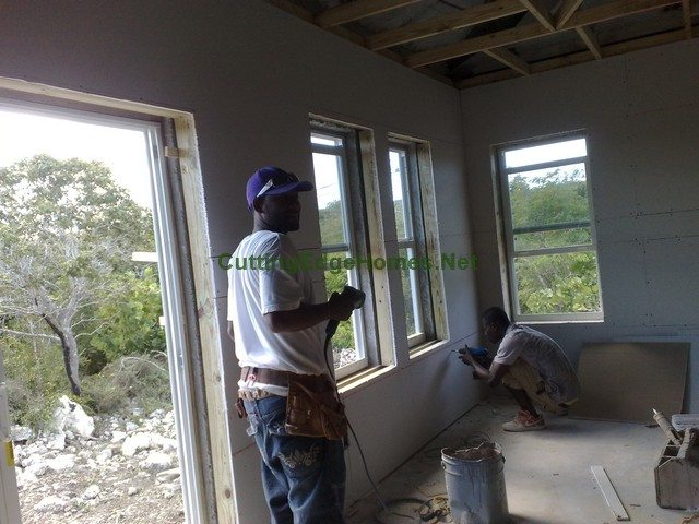 Concrete_Steel_House_Turks_and_Caicos_Under_Construction_14
