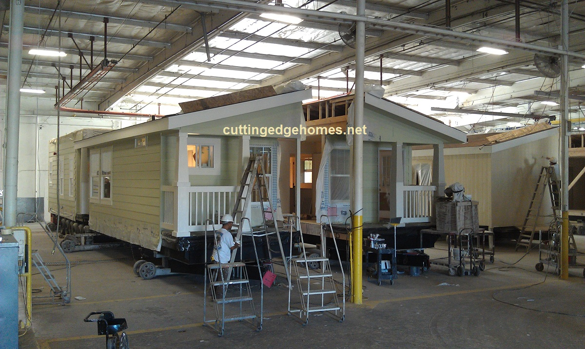 Assembling a Two-Story Modular Home in the Factory