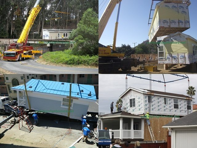 Cutting Edge Modular Home Installations Around California